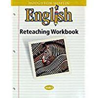 Houghton Mifflin English (Grade 5) 0395319129 Book Cover