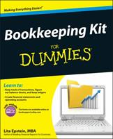 Bookkeeping Kit for Dummies 1118116453 Book Cover