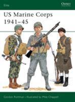 US Marine Corps 1941-45 (Elite) 1855324970 Book Cover
