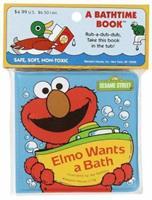Elmo Wants a Bath (Bath Book) 0679830669 Book Cover
