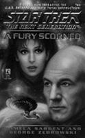 A Fury Scorned (Star Trek The Next Generation, No 43) 0671527037 Book Cover