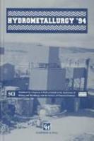 Hydrometallurgy '94 0412597802 Book Cover