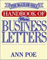 The McGraw-Hill Handbook of More Business Letters 0070505179 Book Cover