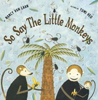 So Say The Little Monkeys 0689810385 Book Cover