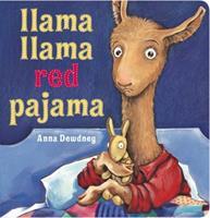Llama, Llama Red Pajama Book Cover