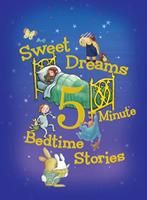 Sweet Dreams 5-Minute Bedtime Stories 0544301781 Book Cover