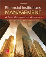 Financial Institutions Management: A Modern Perspective (Irwin Series in Finance) 0256110565 Book Cover
