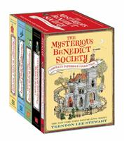 The Mysterious Benedict Society Complete Paperback Collection 0316368873 Book Cover