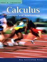 Calculus: Concepts and Applications 1559531185 Book Cover