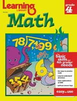 Learning Library Math Grade 4 (Grade 4) 156234479X Book Cover