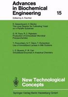 Advances in Biochemical Engineering, Volume 15: New Technological Concepts 3662154080 Book Cover