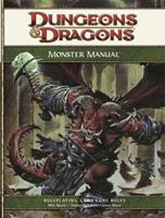 Monster Manual 0786948523 Book Cover