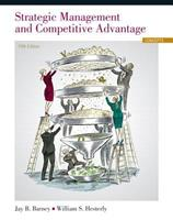 Strategic Management and Competitive Advantage: Concepts 0136094945 Book Cover
