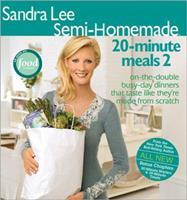 Semi-Homemade 20-Minute Meals (Sandra Lee Semi-Homemade) 0696232634 Book Cover