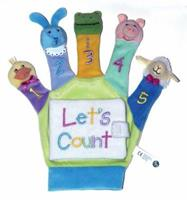 A Hand Puppet Board Book: Let's Count (Hand Puppet Board Books) 0439802830 Book Cover
