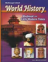 World History Medieval & Early Modern Times 0618277471 Book Cover