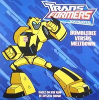 Transformers Animated: Bumblebee Versus Meltdown (Transformers) 0060888075 Book Cover
