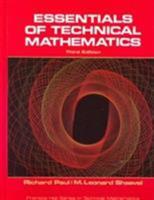 Essentials of Technical Mathematics (Prentice-Hall series in technical mathematics) 0132888122 Book Cover