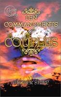 Ten Commandments for Couples: Group Study 0899008461 Book Cover
