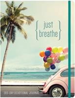 Just Breathe: 365 Devotional Journal 1633261557 Book Cover