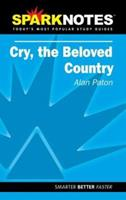 Cry, the Beloved Country (SparkNotes Literature Guide Series) 141140727X Book Cover
