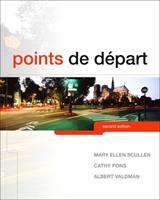 Points de Depart [with MyFrenchLab & eText Multi-Semester Access Code] 013513630X Book Cover
