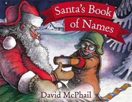 Santa's Book of Names 0613058267 Book Cover