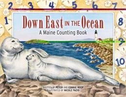 Down East in the Ocean: A Maine Counting Book 0892727098 Book Cover