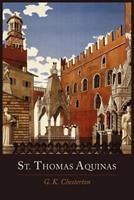 Saint Thomas Aquinas 0385090021 Book Cover