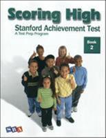 Scoring High: Stanford Achievement Test, Book 2 0075840952 Book Cover