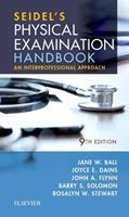 Seidel's Physical Examination Handbook: An Interprofessional Approach 0323545327 Book Cover