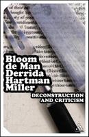 Deconstruction and Criticism (Continuum Impacts) 0826400108 Book Cover
