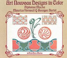 Art Nouveau Designs in Color 0486228851 Book Cover