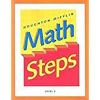 Mathsteps, California Edition: Level 4 0395980097 Book Cover