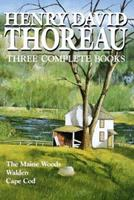 The Maine Woods/Walden/Cape Cod 0517093510 Book Cover
