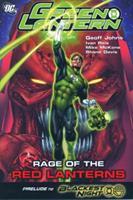 Green Lantern, Volume 7: Rage of the Red Lanterns 1401223028 Book Cover