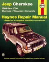 Jeep Cherokee,Wagoneer,Comanche,1984-2001 (Hayne's Automotive Repair Manual) 1563925400 Book Cover