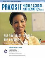 Praxis II Middle School Mathematics (0069) 2nd Ed. (PRAXIS Teacher Certification Test Prep) 0738609609 Book Cover