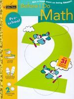 Before I Do Math (Preschool) (Step Ahead) 0307035972 Book Cover