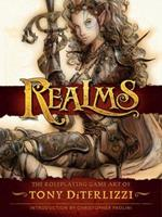 Realms: The Roleplaying Art of Tony DiTerlizzi 161655732X Book Cover