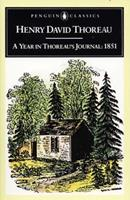 A Year in Thoreau's Journal 0140390855 Book Cover
