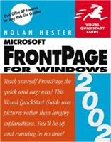 FrontPage 2002 for Windows: Visual QuickStart Guide 0201741431 Book Cover