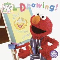 Elmo's World: Drawing! (Sesame Street® Elmos World(TM)) 0375811842 Book Cover