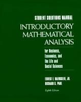 Introduction to Math Analysis 013236753X Book Cover