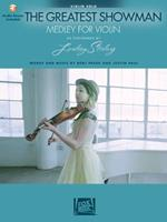 The Greatest Showman: Medley for Violin: Arranged by Lindsey Stirling Bk/Online Audio 1540027554 Book Cover