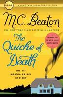 Agatha Raisin and the Quiche of Death 0804111634 Book Cover