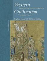 Western Civilization: A History of European Society, Volume I: To 1715 (with CD-ROM) 0534621201 Book Cover
