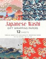 Japanese Washi Gift Wrapping Papers: 12 Sheets of High-Quality 18 x 24 inch Wrapping Paper