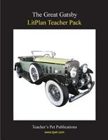 The Great Gatsby : A Unit Plan (Litplans) 1602491755 Book Cover