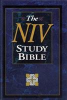 NIV Study Bible Burgundy Bonded Leather(NIV Zondervan study bible) 0310923069 Book Cover